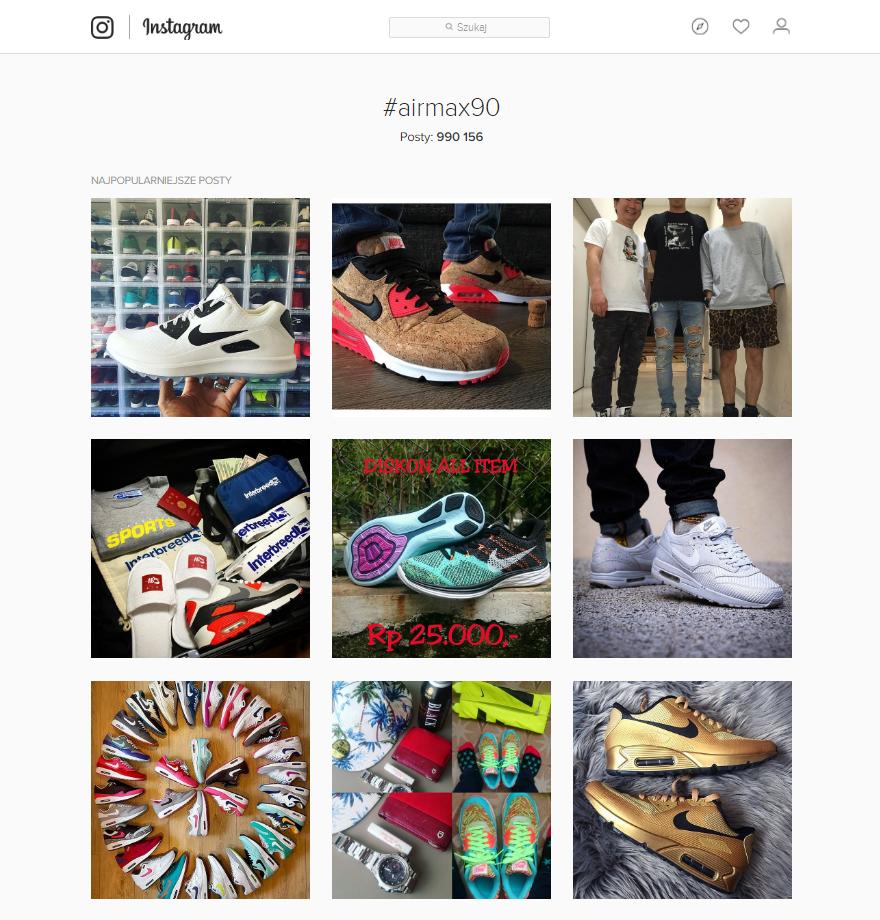 Instagram - Nike Air Max 90